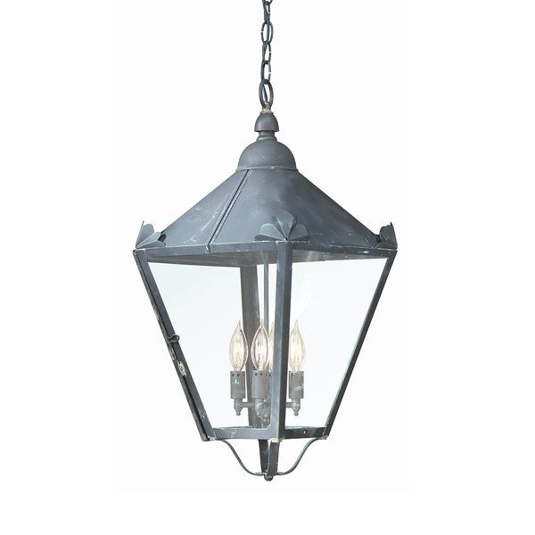 Troy Lighting 4 Light Preston Large Outdoor Pendant | Chandeliers throughout Troy Outdoor Hanging Lights (Image 9 of 10)