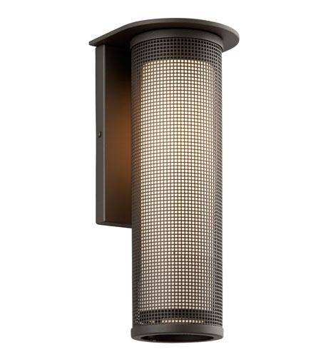Troy Lighting B3743Bz Hive 1 Light 17 Inch Bronze Outdoor Wall Intended For Troy Lighting Outdoor Wall Sconces (Image 5 of 10)