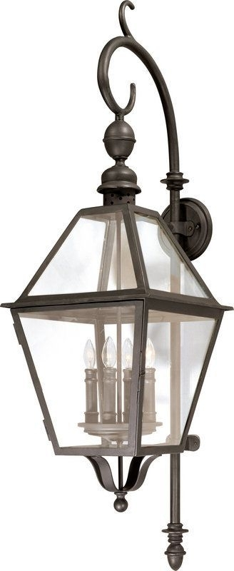 Troy Lighting B9623 Townsend 4 Light Outdoor Wall Sconce Natural Inside Troy Lighting Outdoor Wall Sconces (Image 8 of 10)