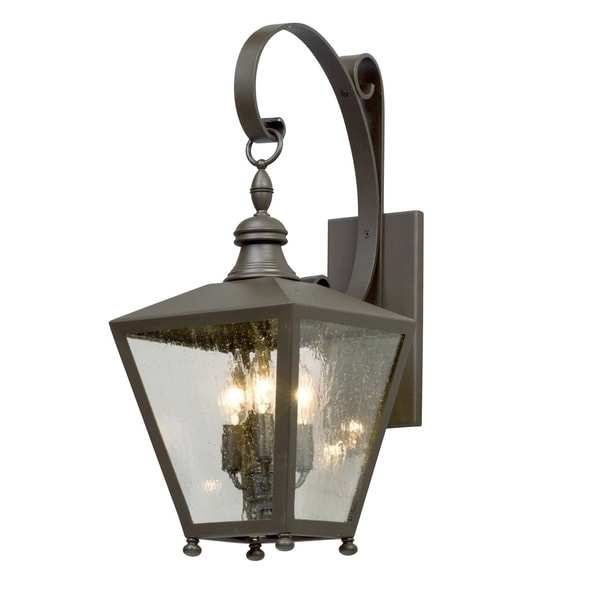 Troy Lighting Mumford 22 Inch Bronze Outdoor Wall Light – Free Pertaining To Troy Lighting Outdoor Wall Sconces (Image 9 of 10)