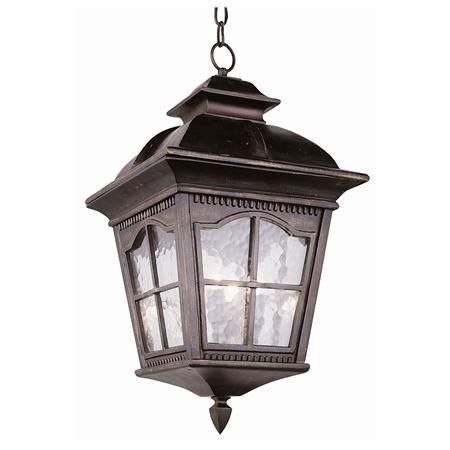 Tudor Revival Outdoor Hanging Light - 3 Light | For The Kitchen inside Antique Outdoor Hanging Lights (Image 9 of 10)