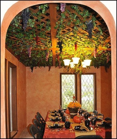 Tuscan Decor Vinyard | Tuscany+Style-Grape+Decor-Tuscany+Style regarding Outdoor Hanging Grape Lights (Image 8 of 10)