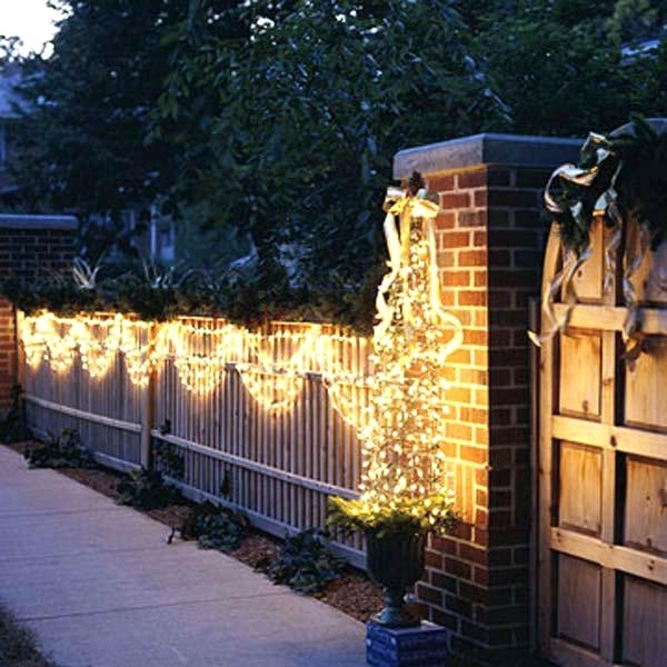 Unique Christmas Lights For Outdoors Outdoor Lighting Decorations Pertaining To Outdoor Wall Xmas Lights (View 9 of 10)