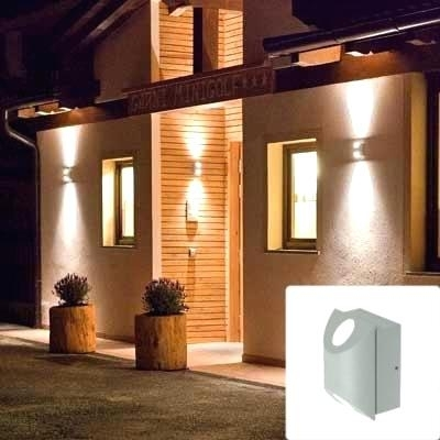 Up Down Outdoor Wall Lights Outdoor Wall Lamp Motion Led Sweden Dark for Up Down Outdoor Wall Lighting (Image 7 of 10)
