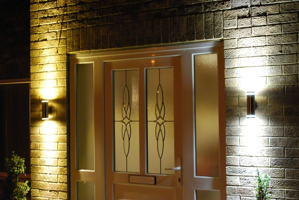 Up Down Wall Lights Exterior Personable Ideas Inside Outdoor pertaining to Up Down Outdoor Wall Lighting (Image 8 of 10)