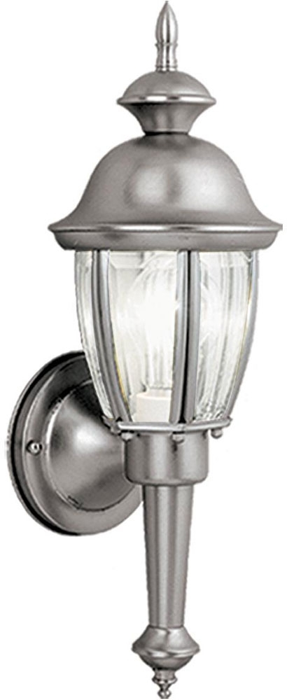 Vaxcel Ow3112Bn Capitol Brushed Nickel Outdoor Wall Lighting Sconce pertaining to Brushed Nickel Outdoor Wall Lighting (Image 10 of 10)