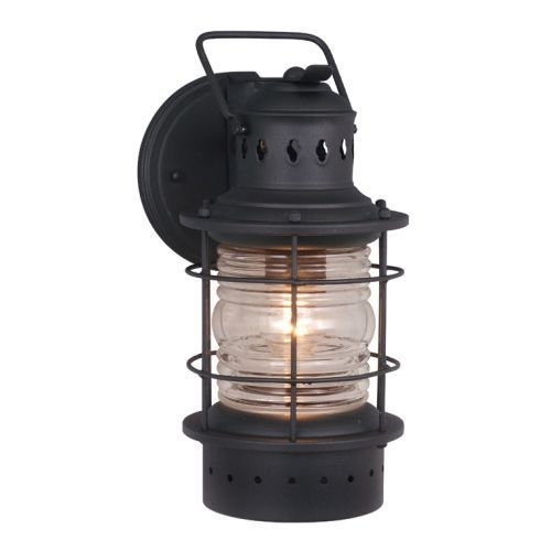 Vaxcel Ow37051Tb Hyannis 6 Inch Outdoor Wall Light Black | Ebay in Outdoor Wall Lighting at Ebay (Image 8 of 10)