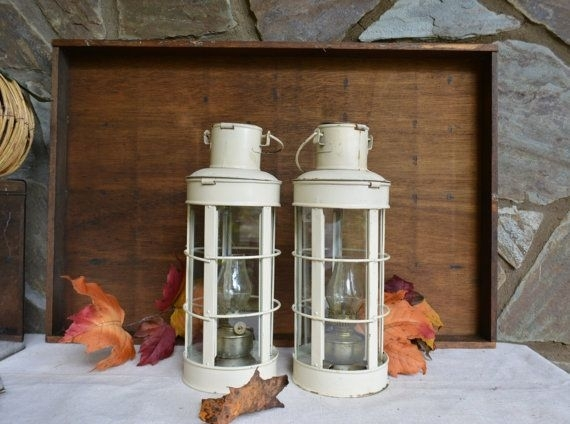 Featured Photo of Outdoor Hanging Oil Lanterns