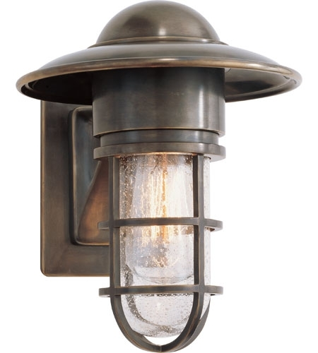 Visual Comfort Slo2001Bz-Sg E. F. Chapman Marine 1 Light 11 Inch pertaining to Bronze Outdoor Wall Lighting (Image 10 of 10)