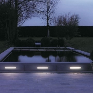 Wall Light: Enchanting Recessed External Wall Lights As Well As with Recessed Outdoor Wall Lighting (Image 8 of 10)