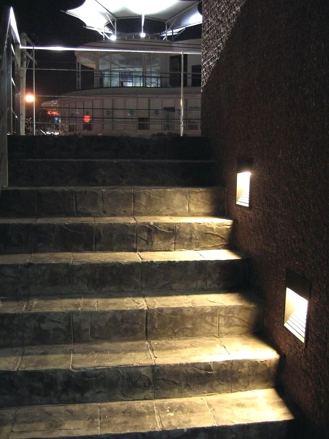 Wall Light: Mesmerizing Recessed External Wall Lights As Well As for Recessed Outdoor Wall Lighting (Image 9 of 10)