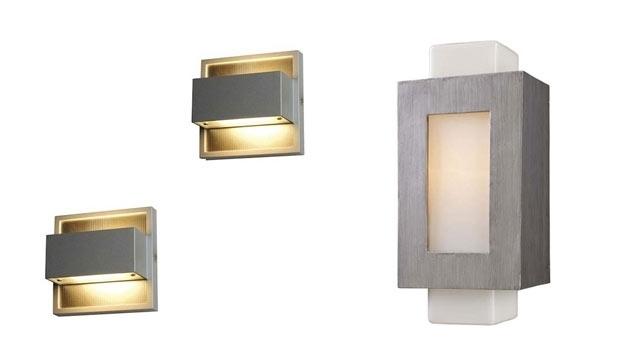 Wall Lights Design Large Outdoor Exterior Wall Mounted Light In In Outdoor Wall Mounted Lighting (View 10 of 10)