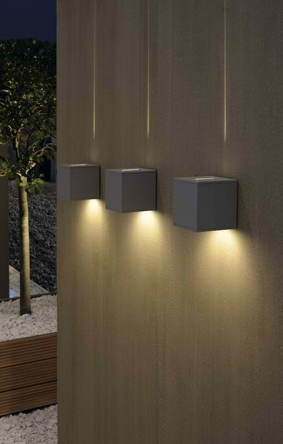 Wall Lights Design Modern Contemporary Outdoor Lighting With In inside Contemporary Outdoor Wall Lights (Image 9 of 10)