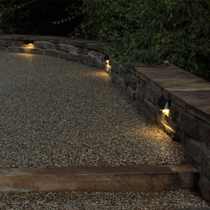 Wall Lights Design Perfect Decor Retaining Wall Lighting Interior regarding Outdoor Block Wall Lighting (Image 10 of 10)