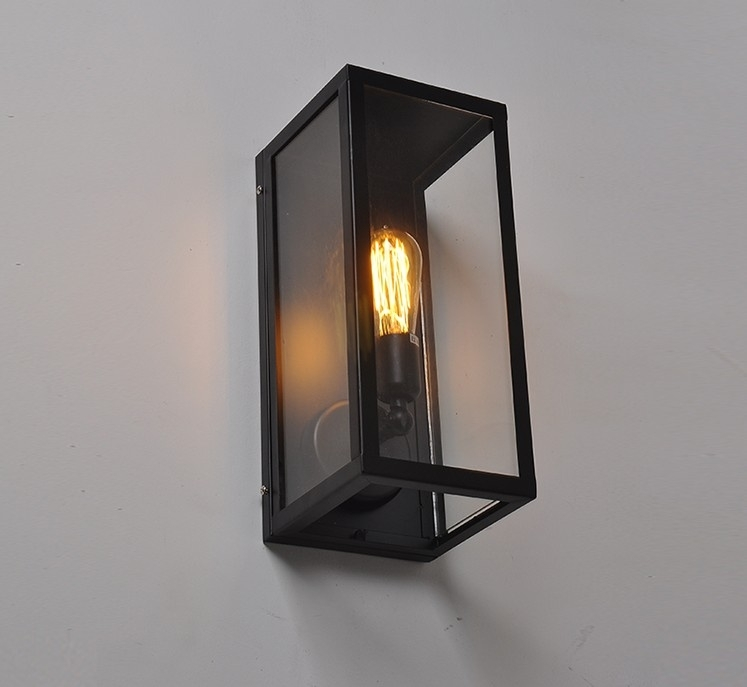 Featured Photo of Outdoor Wall Light Glass