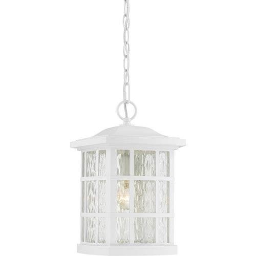 White Outdoor Hanging Lighting | Bellacor in White Outdoor Hanging Lanterns (Image 9 of 10)