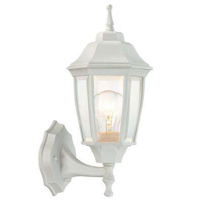 White - Outdoor Lanterns - Outdoor Wall Mounted Lighting - Outdoor throughout White Outdoor Wall Lights (Image 7 of 10)