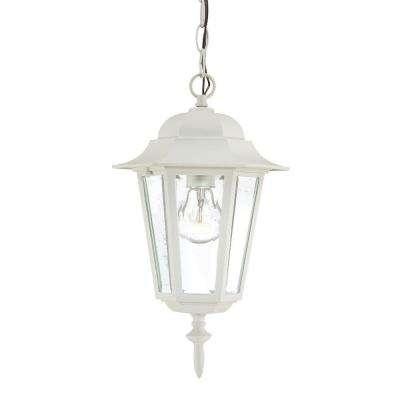 White   Outdoor Pendants   Outdoor Hanging Lights   Outdoor Ceiling Throughout White Outdoor Hanging Lanterns (Photo 4 of 10)