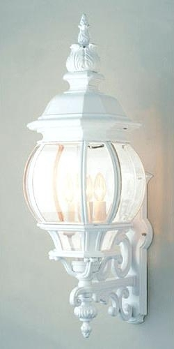 White Outdoor Wall Lights – Hpianco within White Outdoor Wall Lights (Image 10 of 10)