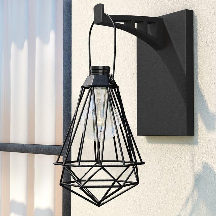 Williston Forge Audrey Geometric Solar Powered 1 Light Outdoor Led Regarding Solar Powered Outdoor Hanging Lanterns (View 9 of 10)