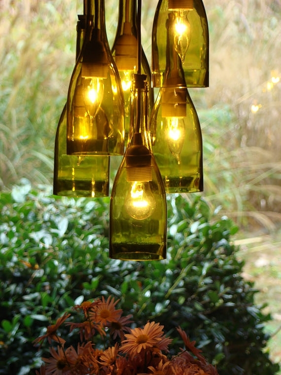 Wine Bottle Outdoor Lights – Outdoor Designs Regarding Making Outdoor Hanging Lights From Wine Bottles (View 5 of 10)