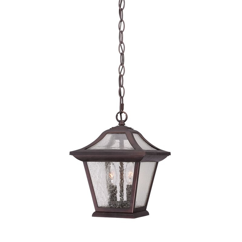 Winston Porter Vanleer 2-Light Outdoor Hanging Lantern & Reviews with Wayfair Outdoor Hanging Lights (Image 10 of 10)