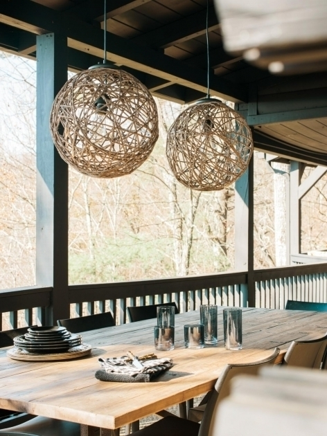 Wonderful How To Make A Sisal Rope Pendant Light How Tos Diy Diy within Diy Outdoor Hanging Lights (Image 10 of 10)