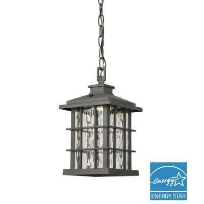 Wrought Iron - Outdoor Pendants - Outdoor Hanging Lights - Outdoor for Outdoor Iron Hanging Lights (Image 9 of 10)