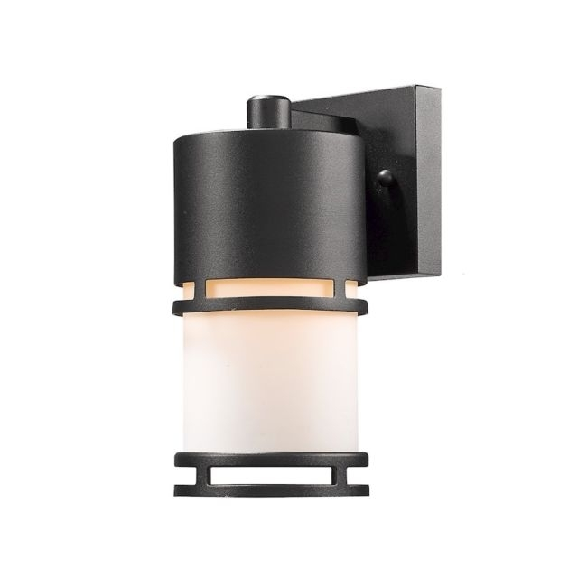 Z-Lite Luminata Black Outdoor Led Wall Light | Ebay with Outdoor Wall Lighting At Ebay (Image 10 of 10)
