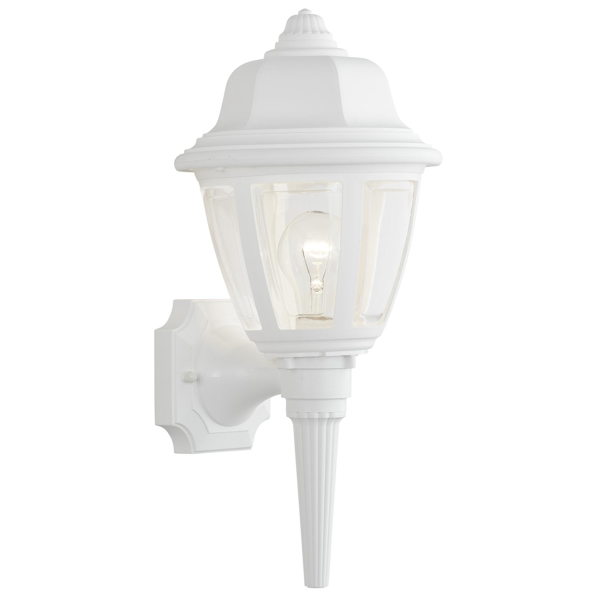 10 Benefits Of White Outdoor Wall Light Fixtures | Warisan Lighting Within White Outdoor Lanterns (View 14 of 20)