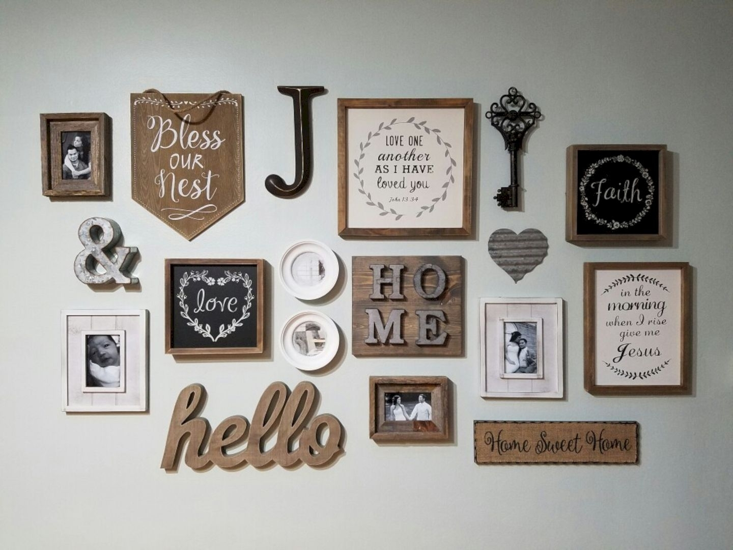 109 Wonderful Diy Rustic Wall Decor Ideas   Design Listicle Within Wall Art Decors (Gallery 3 of 20)