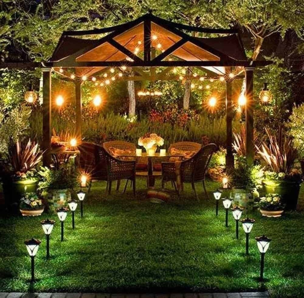 11 Garden Lighting Ideas To Illuminate Your Outdoor Space | Diy Garden Regarding Outdoor Landscape Lanterns (View 1 of 20)