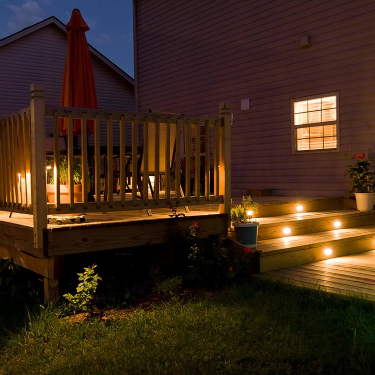 12 Ideas For Lighting Up Your Deck — The Family Handyman within Outdoor Deck Lanterns (Image 1 of 20)
