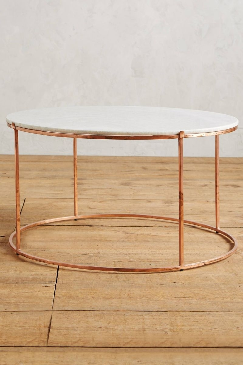 12 Round Coffee Tables We Love - The Everygirl regarding Shroom Coffee Tables (Image 3 of 30)