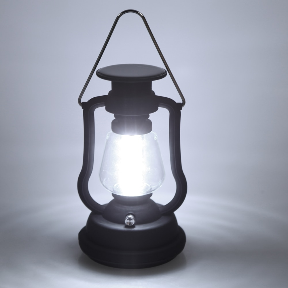 120 Lumens 16 Led Outdoor Rechargeable Hand Crank Camping Lantern inside Outdoor Rechargeable Lanterns (Image 1 of 20)