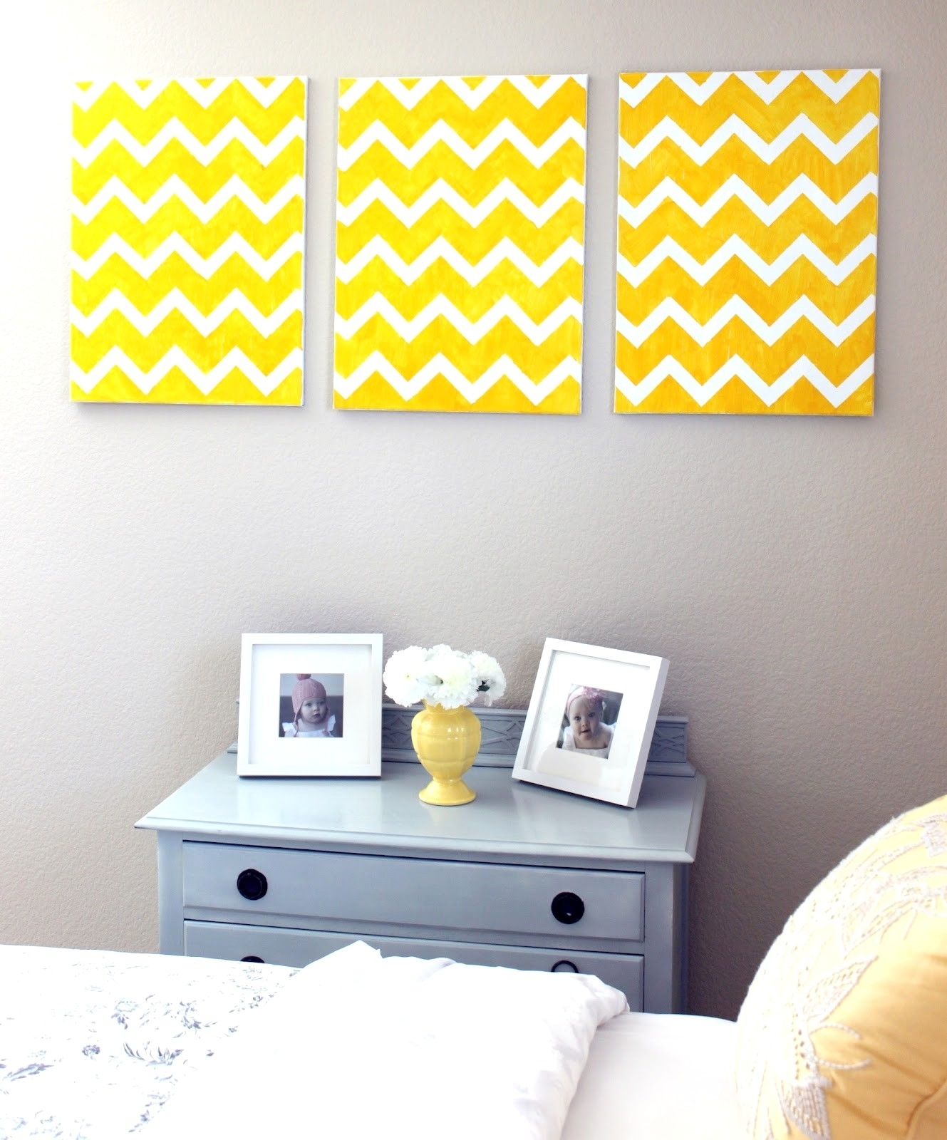 13 Diy Chevron Wall Art - Thebusinessuk with Chevron Wall Art (Image 1 of 20)