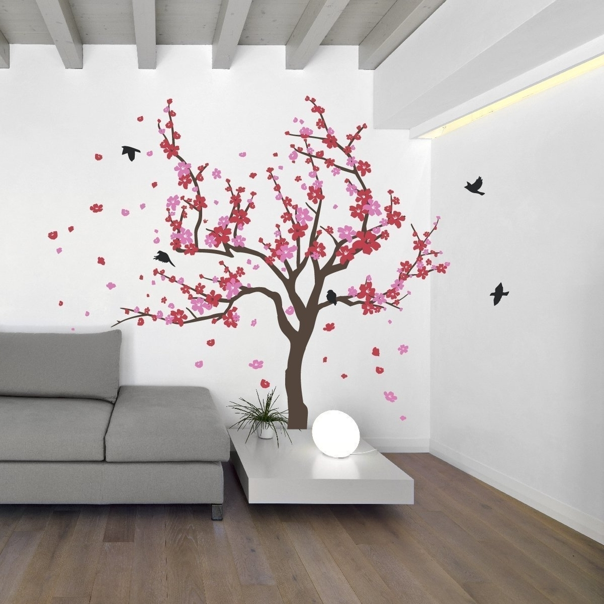 15 Best Ideas Of Red Cherry Blossom Wall Art, Cherry Blossom Wall for Cherry Blossom Wall Art (Image 1 of 20)