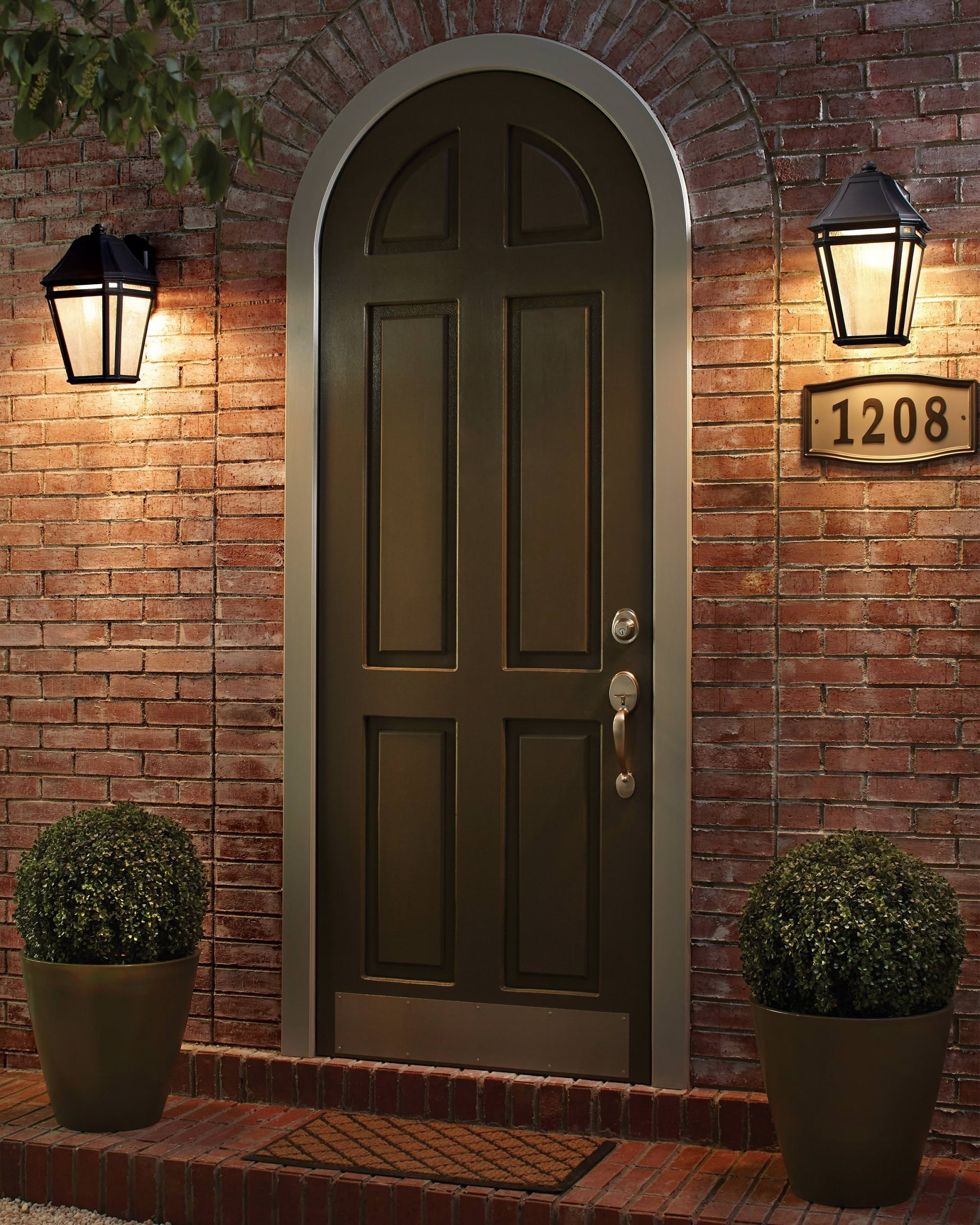 15 Different Outdoor Lighting Ideas For Your Home (All Types) pertaining to Outdoor Door Lanterns (Image 2 of 20)
