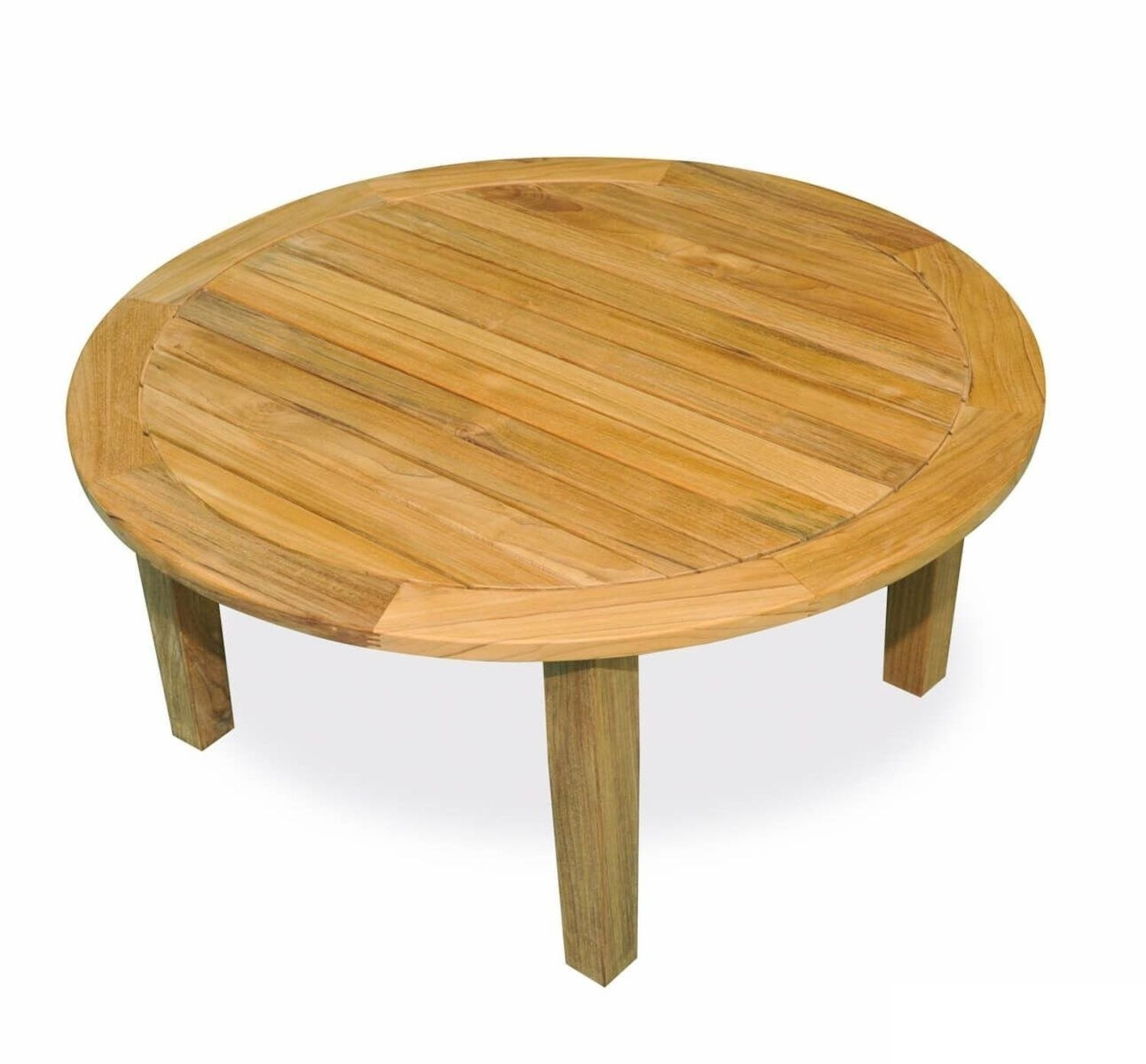 15 Elegant Outdoor Teak Coffee Table With Round Teak Coffee Tables (Photo 19 of 30)