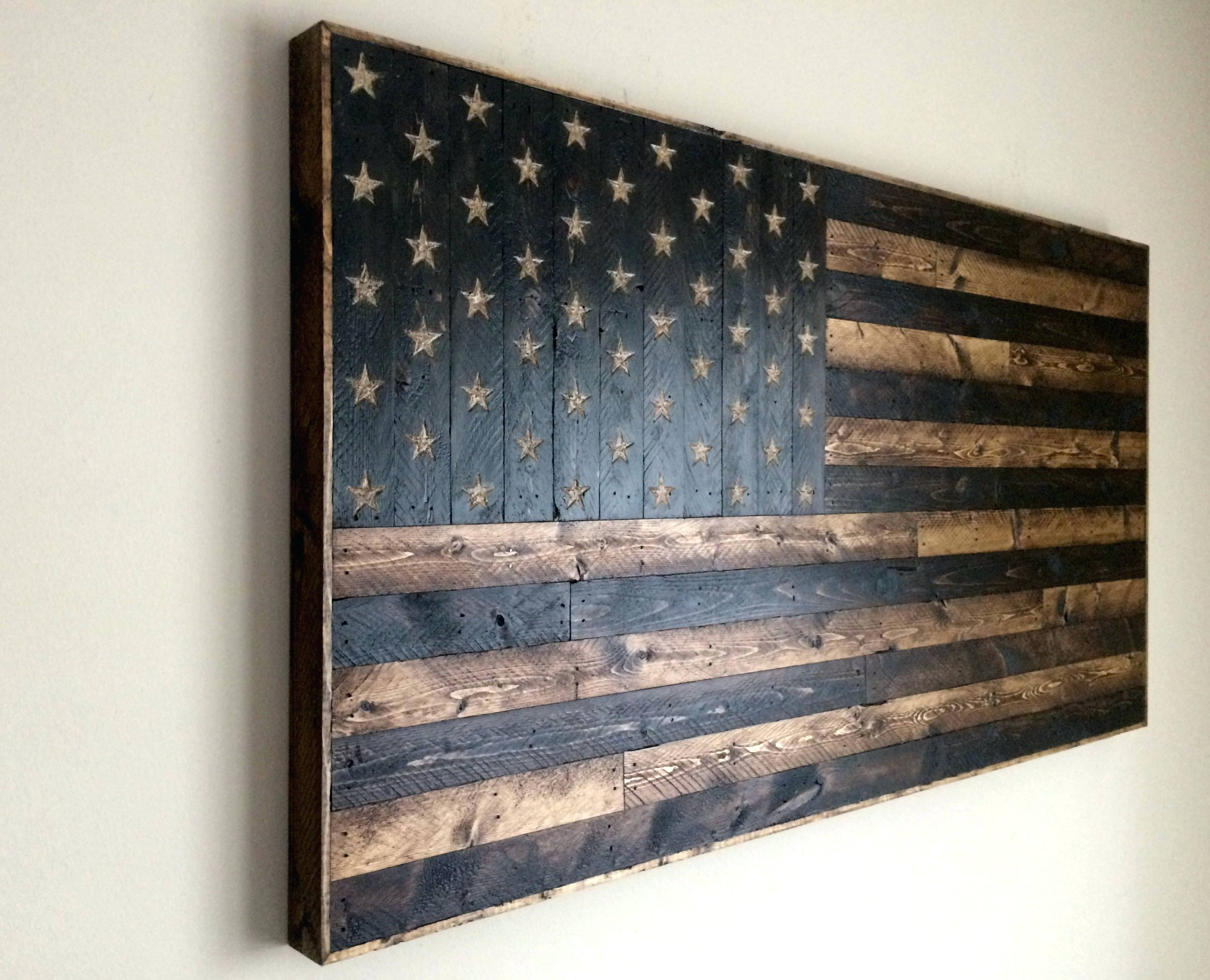 18 Wooden Flag Wall Art, Wooden American Flag Wall Art Rough Country For Wooden American Flag Wall Art (Gallery 15 of 20)