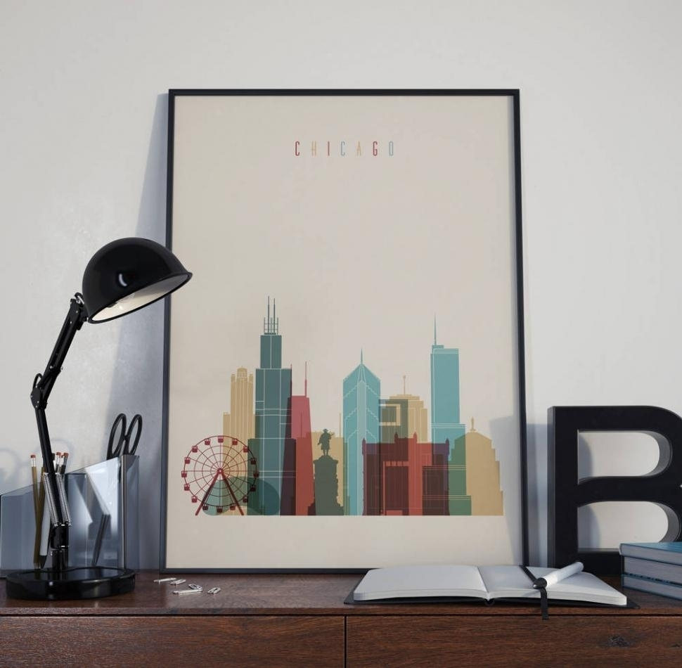20 Best Collection Of Chicago Wall Art, Chicago Wall Art – Swinki Within Chicago Wall Art (Gallery 18 of 20)