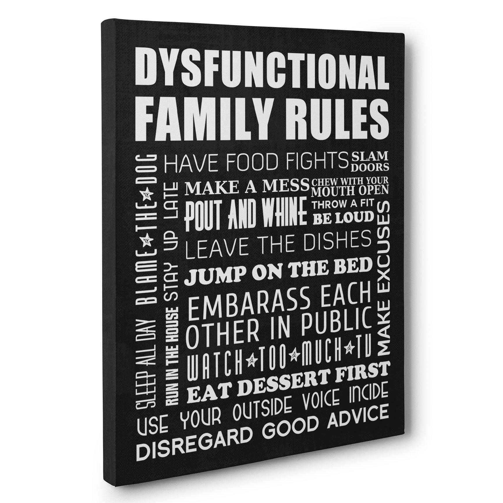 20 Best Ideas Family Rules Canvas Wall Art Wall Art Ideas, Family With Regard To Family Rules Wall Art (Gallery 13 of 20)
