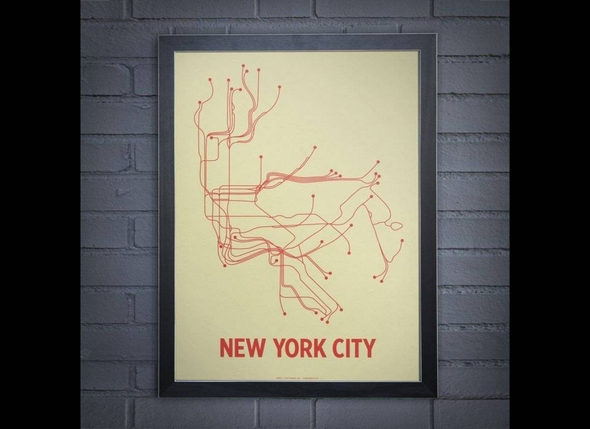 20 Best Nyc Subway Map Wall Art Incredible | Realvalue – Within New York Subway Map Wall Art (Gallery 2 of 20)