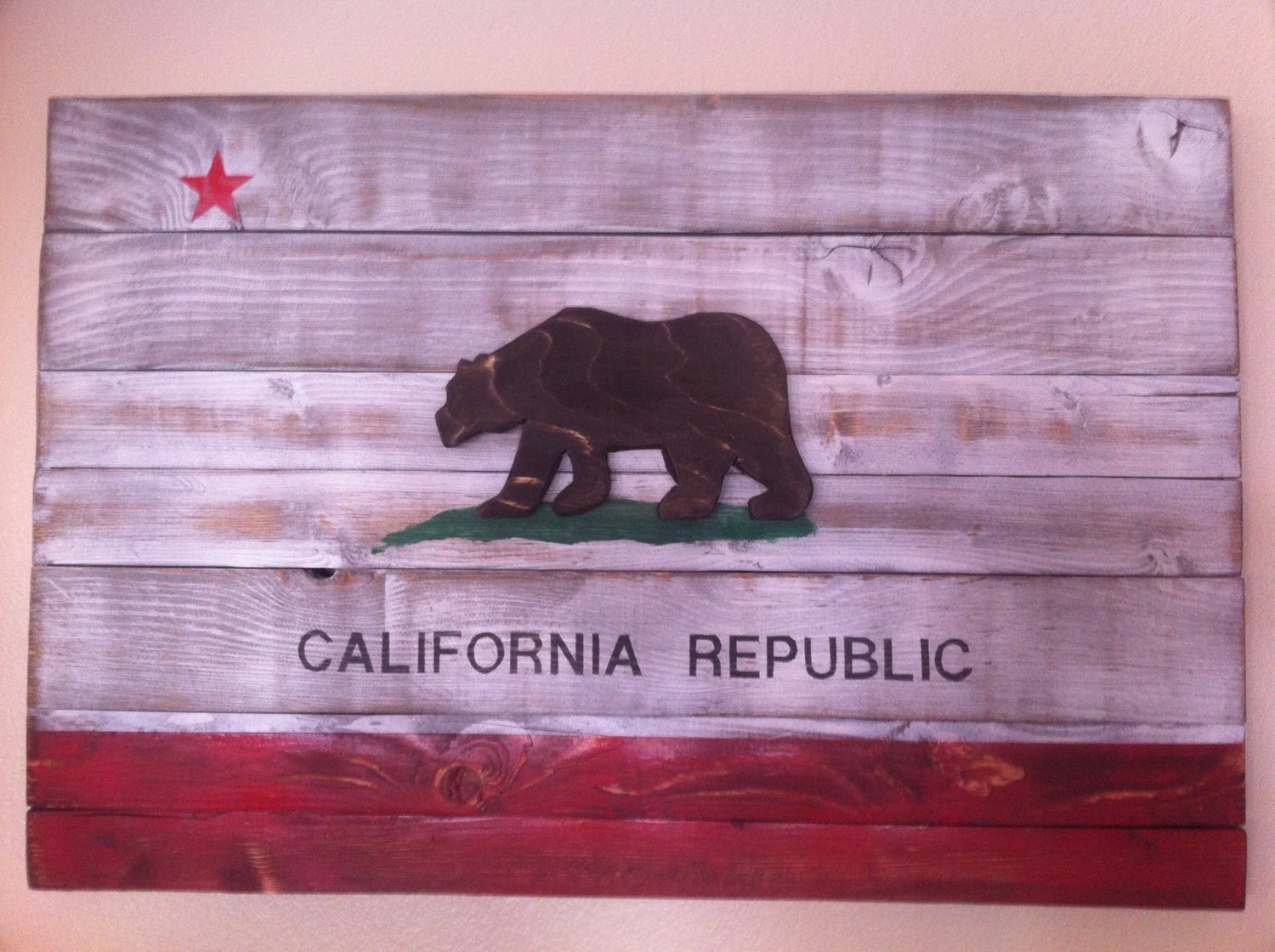 20 Creative Handmade Wall Art Pieces - Style Motivation with California Wall Art (Image 2 of 20)