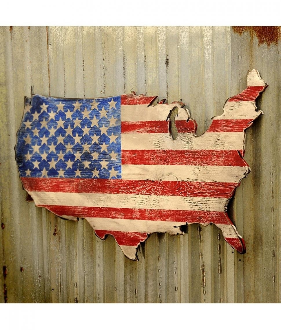 20 Photo Of Us Map Wall Art, Us Map Wall Art - Swinki Morskie with Us Map Wall Art (Image 1 of 20)