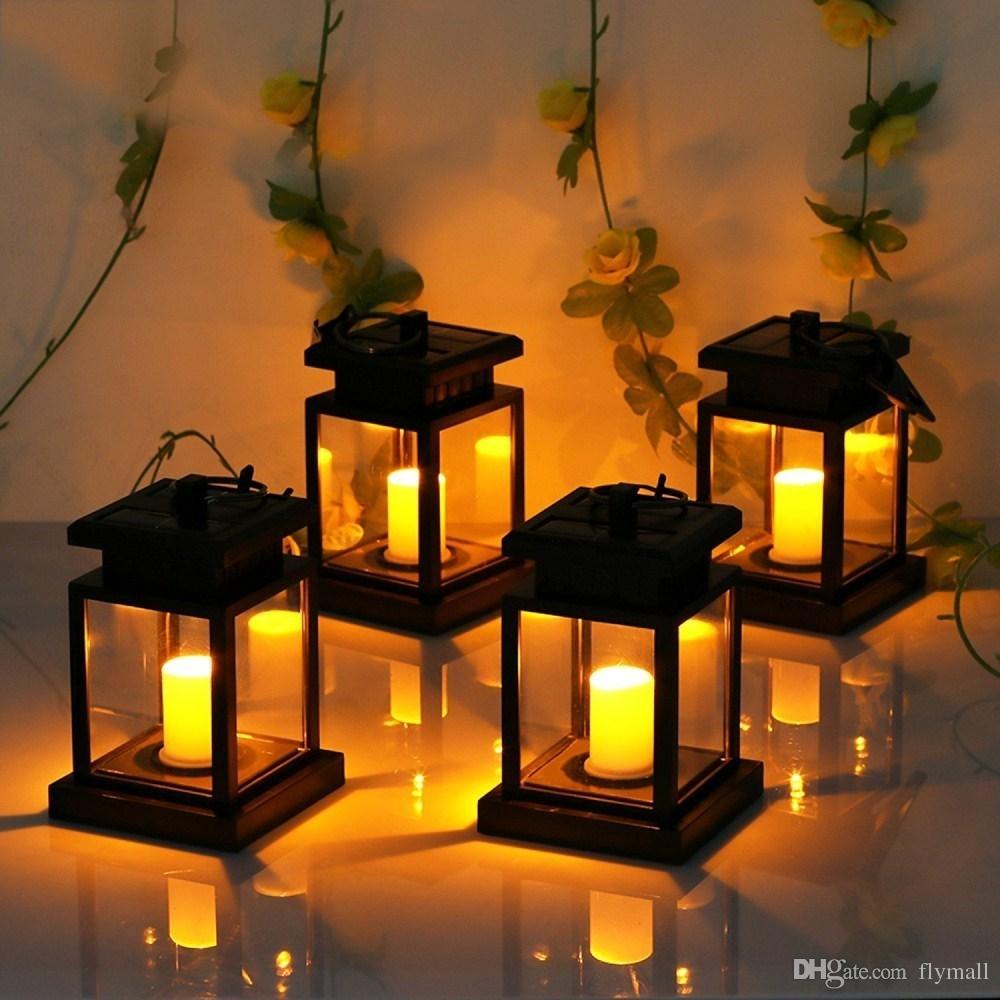 2018 6 Pack Solar Lights Outdoor Hanging Solar Lantern Solar Garden With Outdoor Turkish Lanterns (Gallery 12 of 20)
