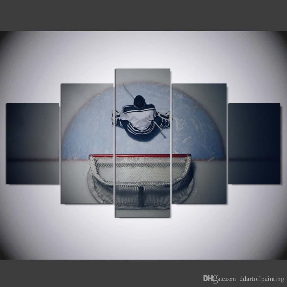 2018 60X32 Winter Sports Hockey Art Print ,hockey Canvas Print Wall Regarding Hockey Wall Art (Gallery 8 of 20)