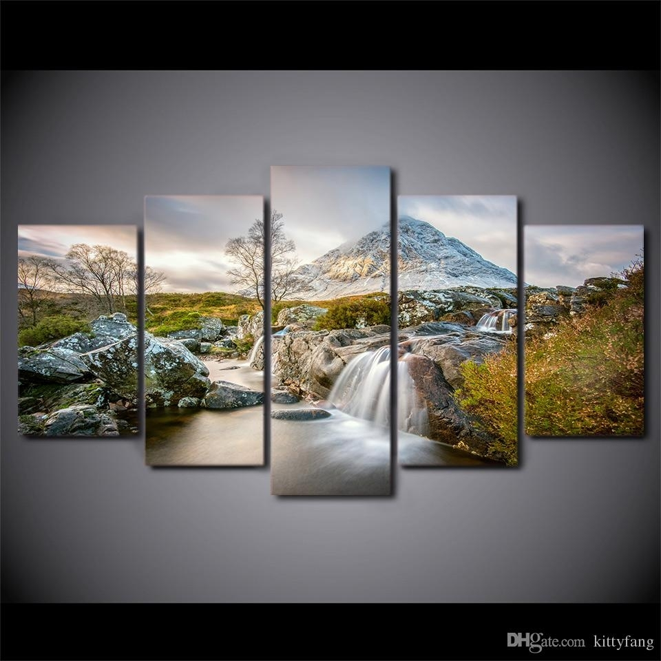 2018 Framed Hd Printed Summer Nature Canvas Painting Wall Art Prints Within Nature Wall Art (Photo 11 of 20)