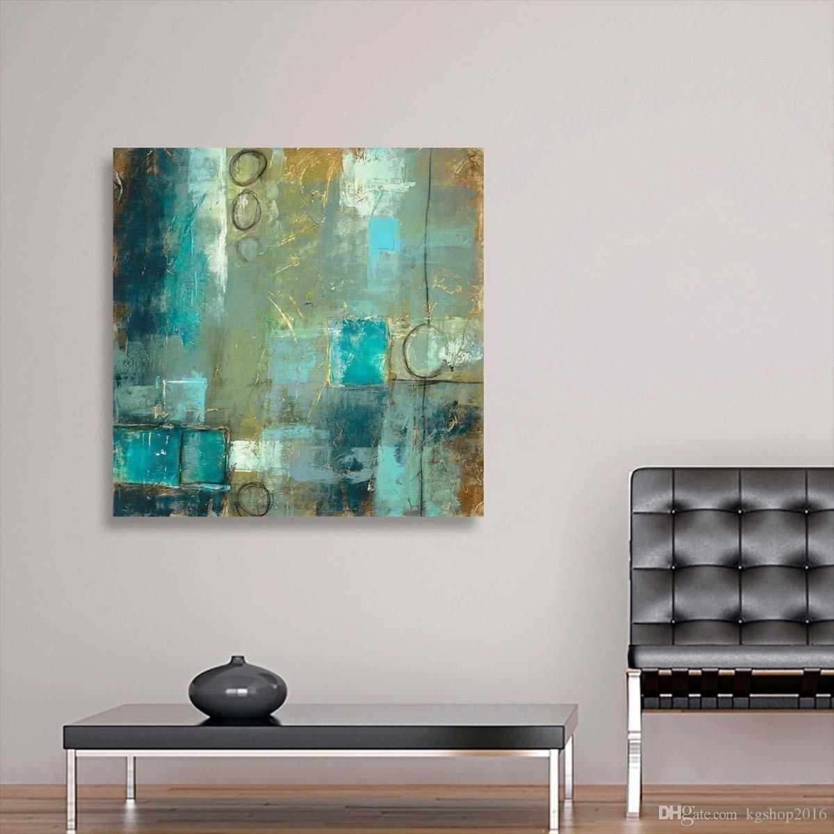 2018 Kgtech Modern Contemporary Canvas Art Modern Abstract Painting Inside Modern Abstract Painting Wall Art (Gallery 3 of 20)