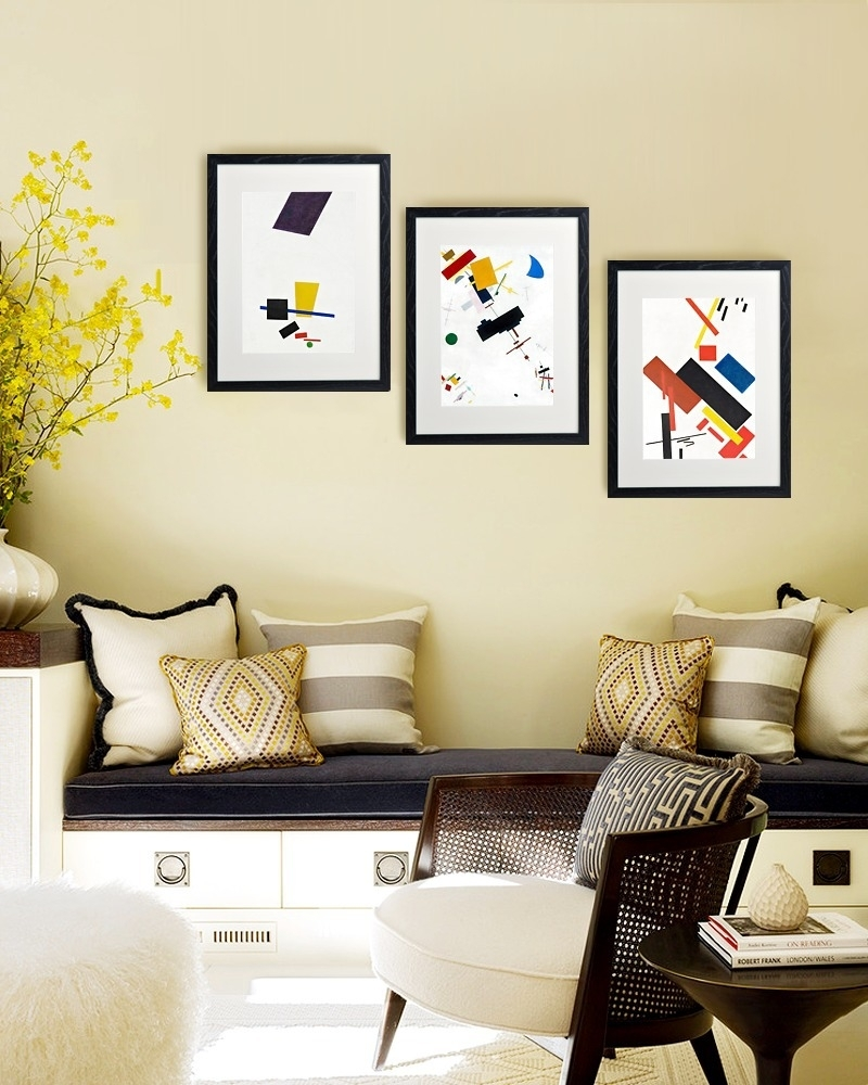 23 Frame Decor Examples For Living Room Mostbeautifulthings, Framed Intended For Framed Wall Art For Living Room (Photo 3 of 20)